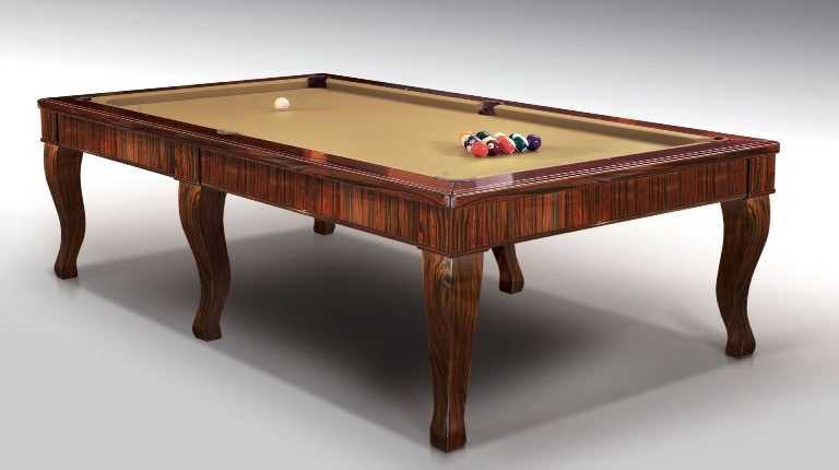 Canossa Ebony billiard Pool Table 6 bases