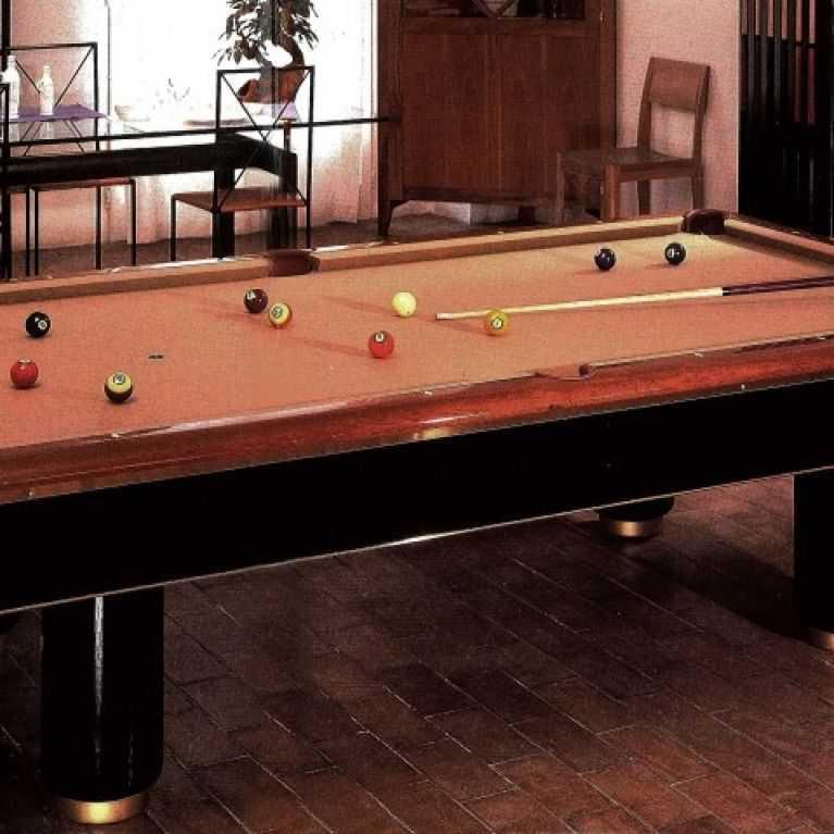 Italian Billiards Production Biliardi Cavicchi - Italian pool table