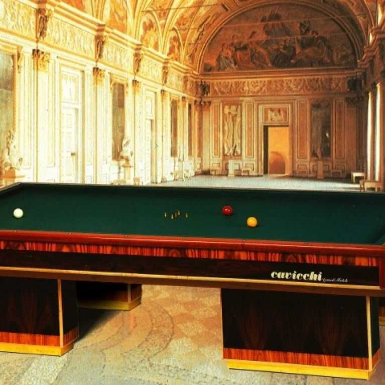 Production of billiards without holes