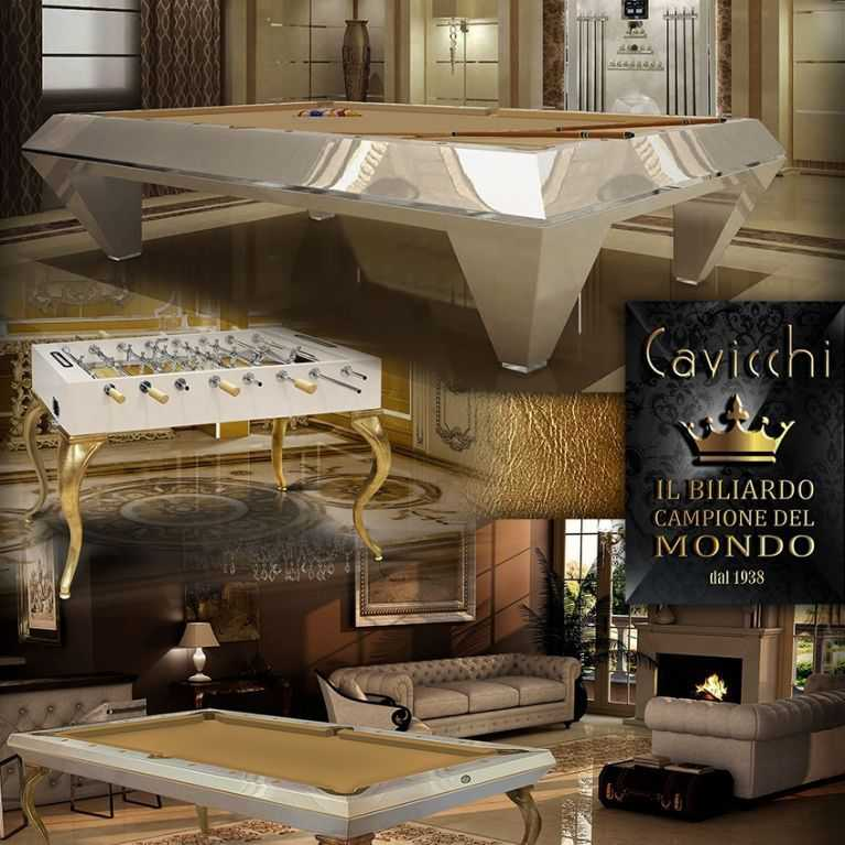 Reopening Cavicchi  the Exclusive World Champion billiard 100% Made in Italy