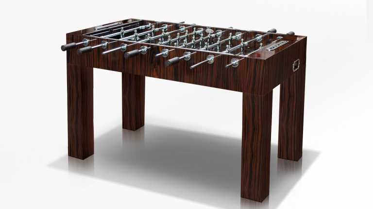 Linear Ebony Soccertable