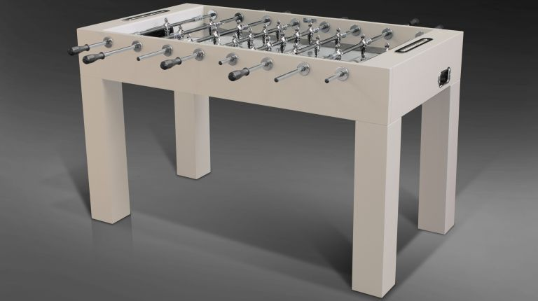 Linear Pearled Soccer Table