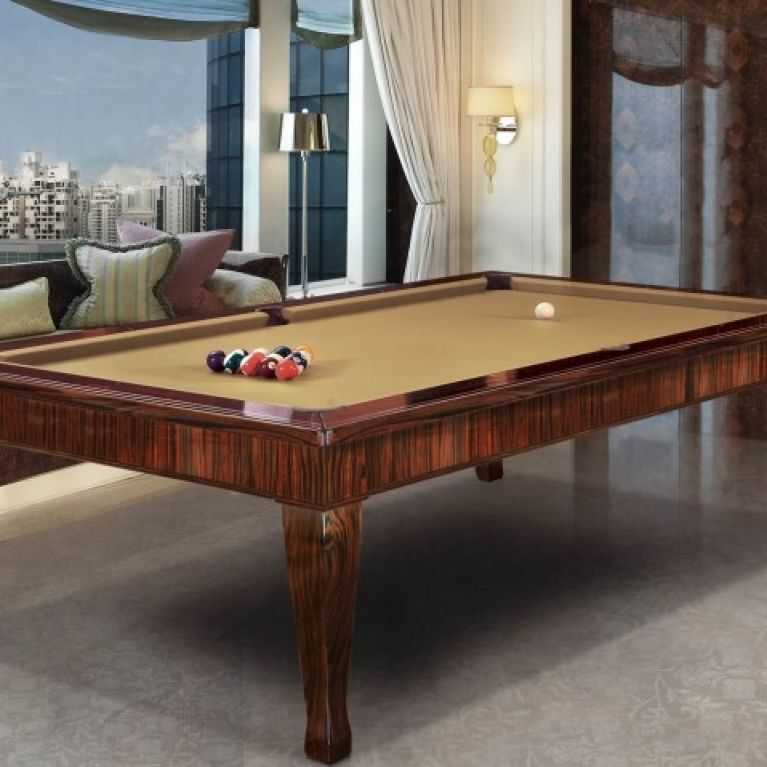 Custom billiard tables