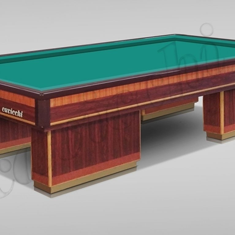 Used billiard without holes
