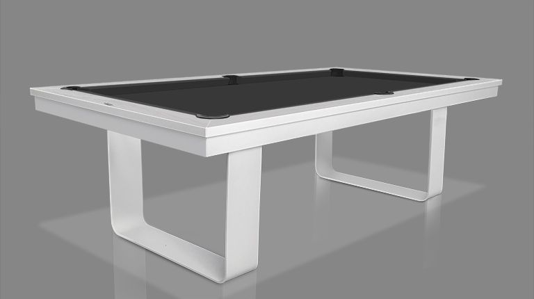 Cavicchi Mistral White Pool Table