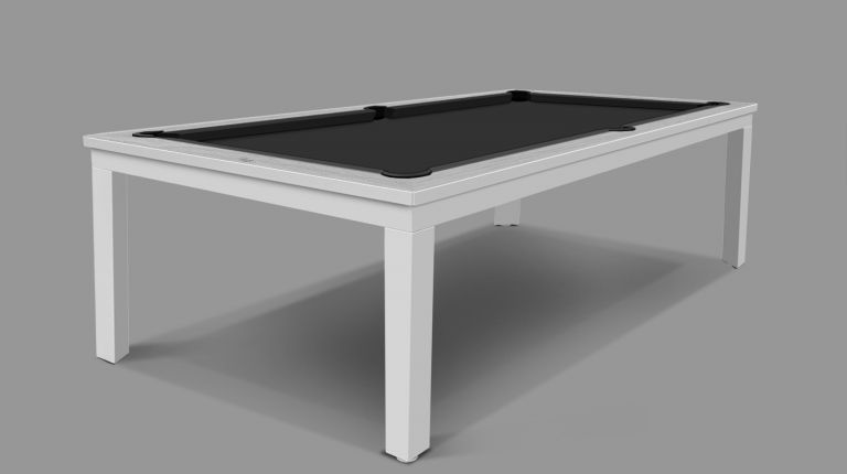 CAVICCHI MATRIX WHITE POOL TABLE