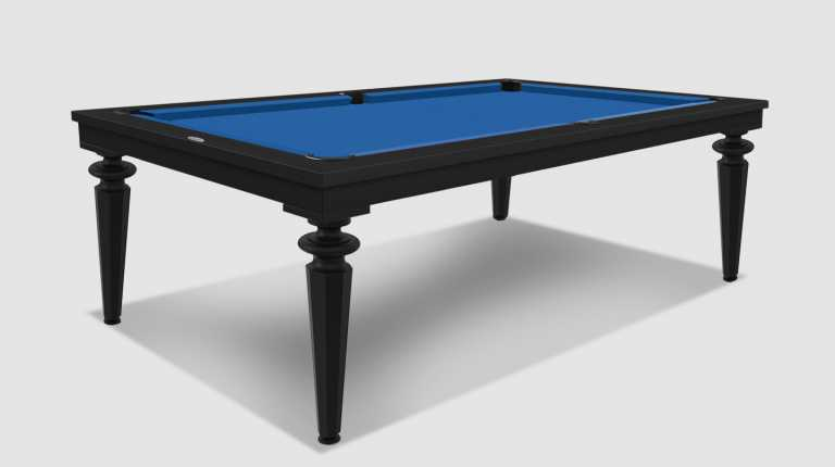Cavicchi Black Phedra Pool Table