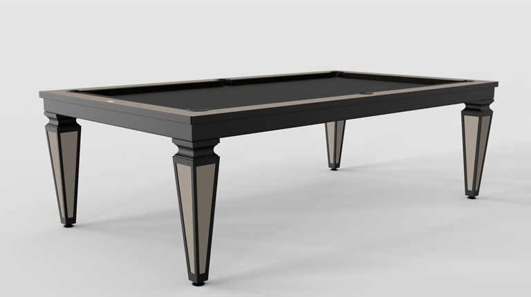 Cavicchi Cheope Style Black Pool Table