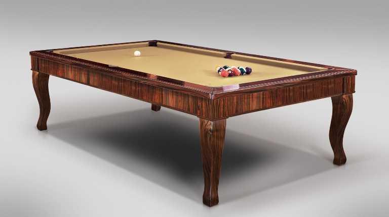 Ebony Canossa Pool Billiard Table
