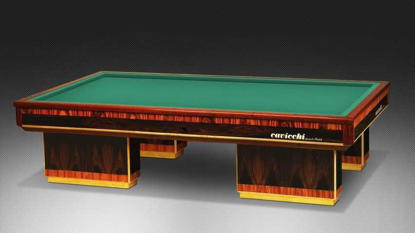 Billiard for sporting competitions