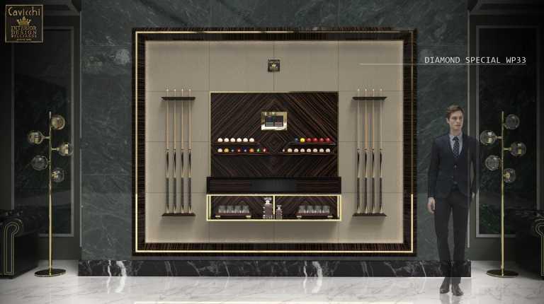Мебель,отделанная деревянными панелями,Diamond Special WP33