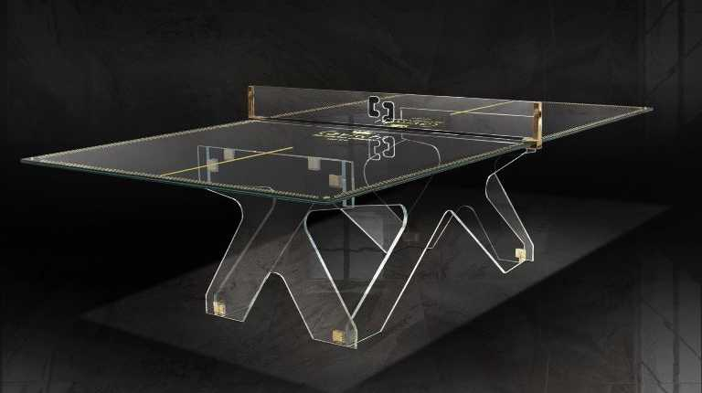 Crystal Ping Pong Table