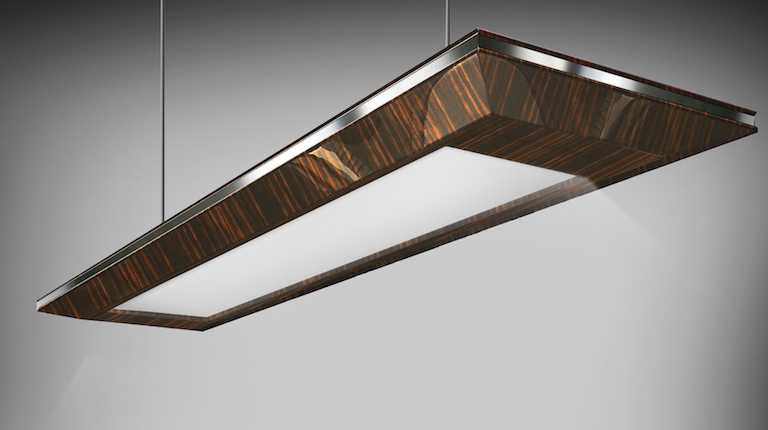 Ebony Technology chandelier