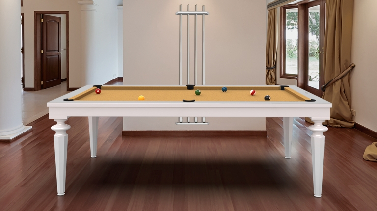 billiard table Cavicchi Phedra White  - Showroom Shop