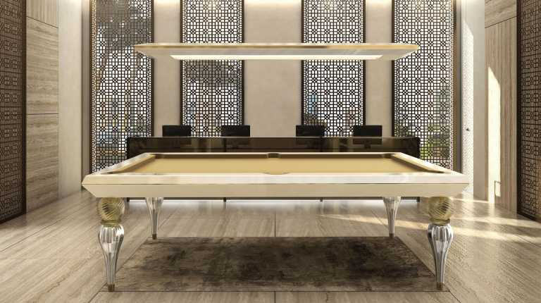 billiard table mod. Opera Murano - Showroom shop