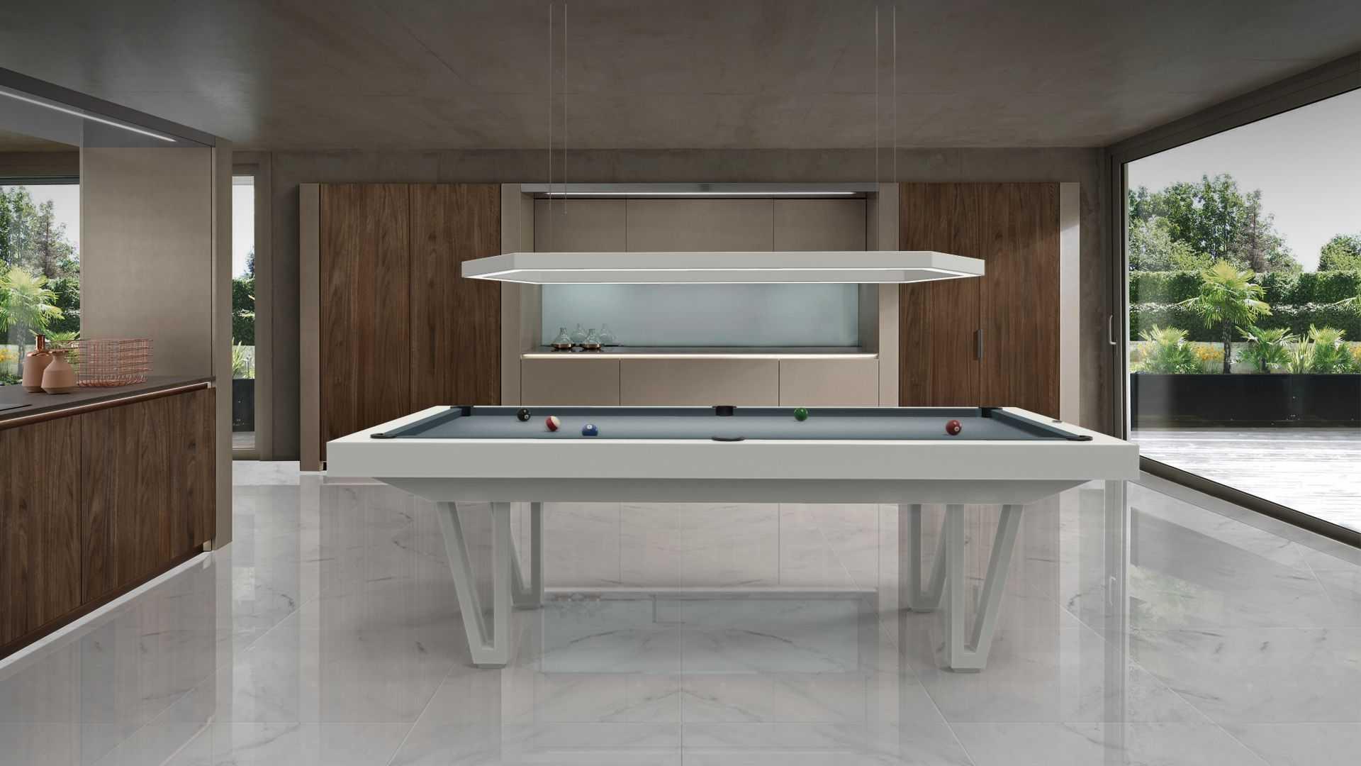 Illuminazione tavolo da biliardo