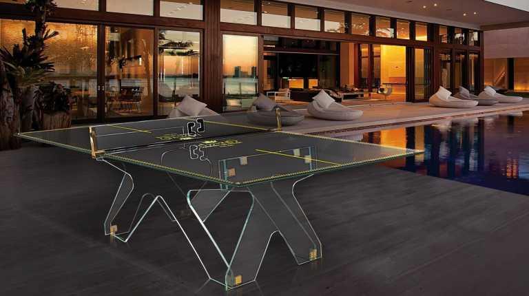 Теннисный стол Crystal магазин шоу-рум