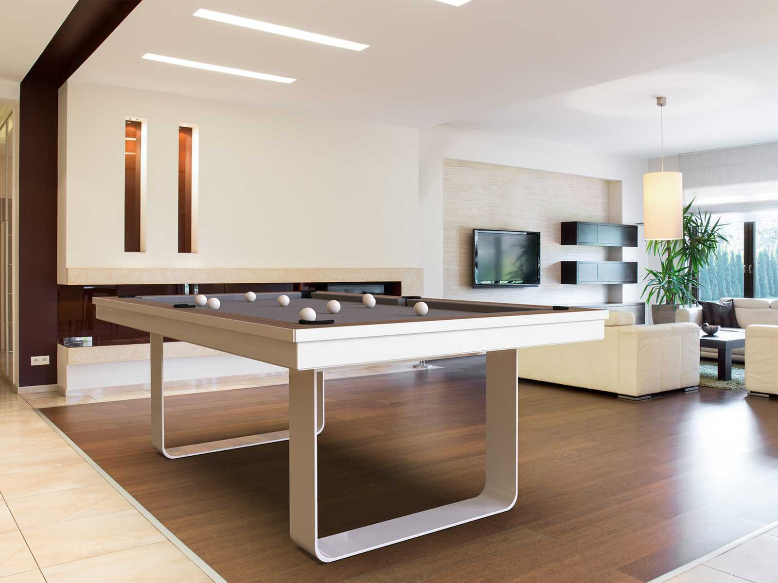 Pool Table mod. Mistral White
