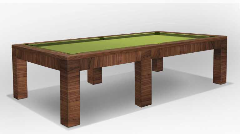 Luxor Line Pool Table Precious Wood