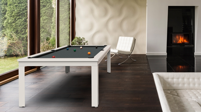 billiard table Cavicchi Matrix White - Showroom Shop