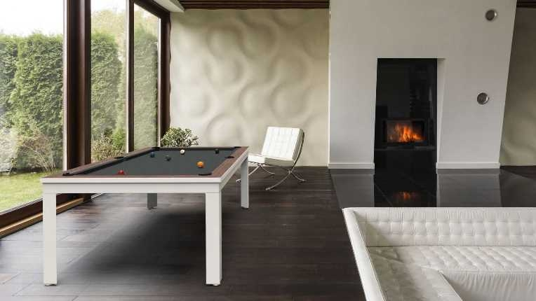 billiard table Cavicchi Matrix White Ivory  - Showroom Shop