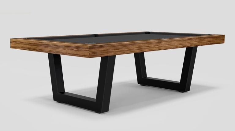 Kobe Teak / Walnut / Lacquered Pool Table
