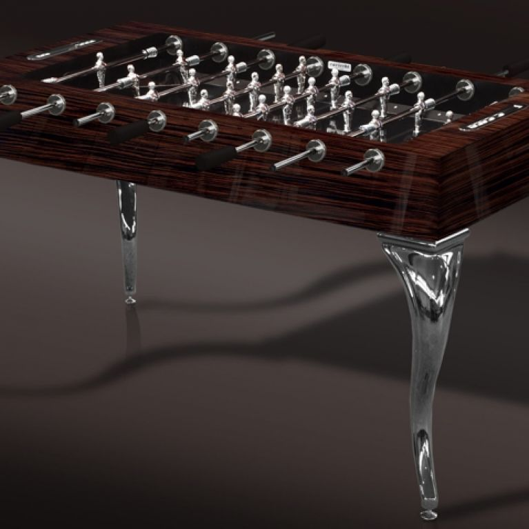 A new Exclusive customizations of the SoccerTable Opera, The Opera Ebony