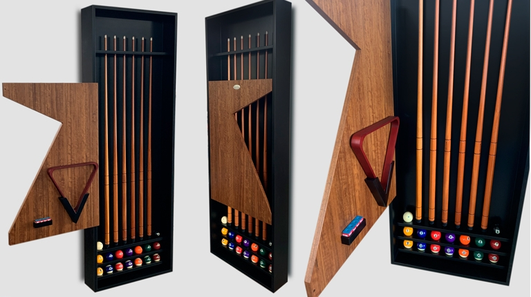 EXCLUSIVE WALL CUE HOLDER FURNITURE