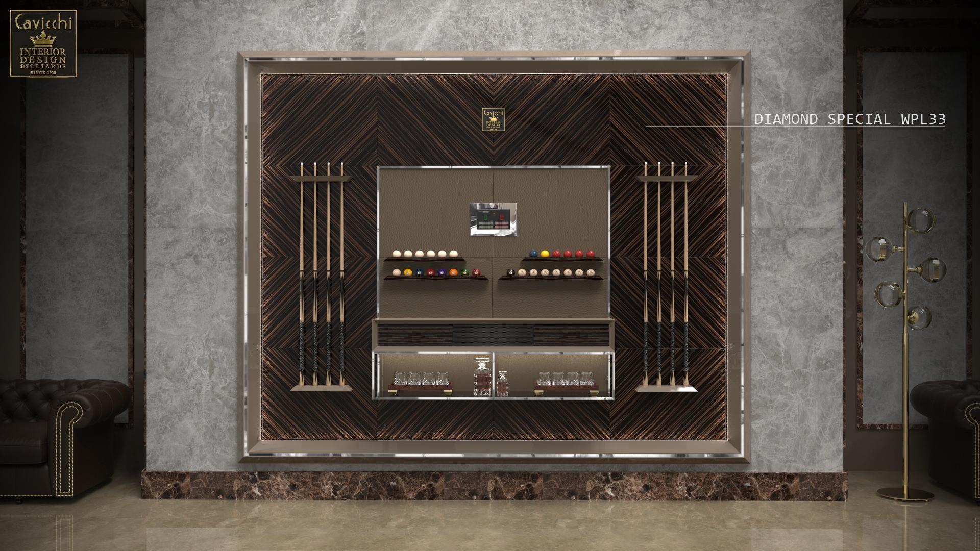 Progettazione boiserie di design