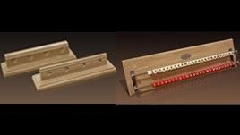 Canossa Style Cue Holder and Scorekeeper Set