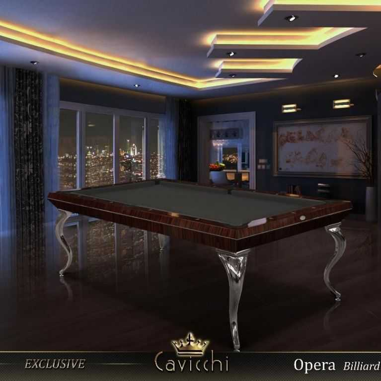 The extreme Luxury and elegance  of  the Special Opera in Refined Ebony