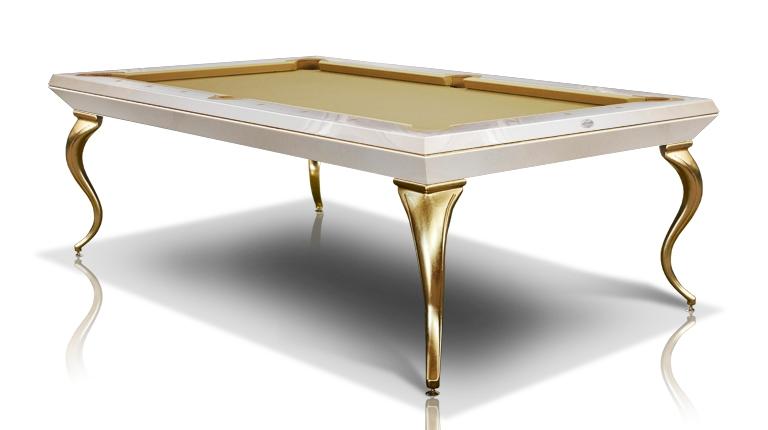 Pool Billiard Tables Opera Millionaire and Gold Leaf