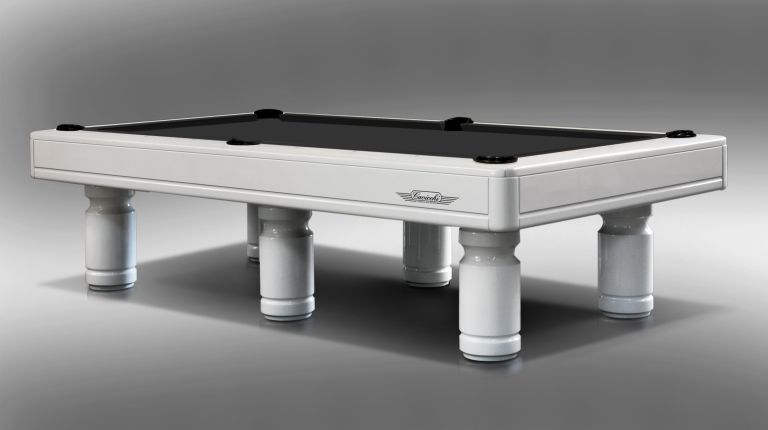 Pool Evolution Billiard Pool Table Lacquered