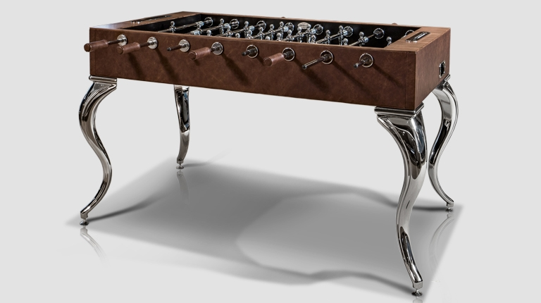 Opera Leather Soccer Table