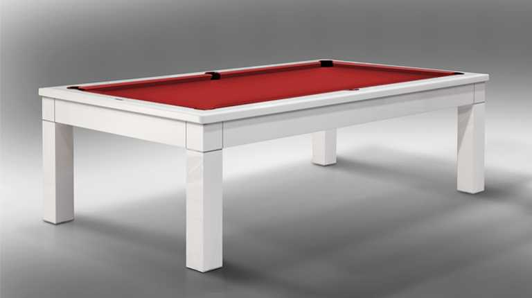 Luxor Billiard Pool Table Lacquered