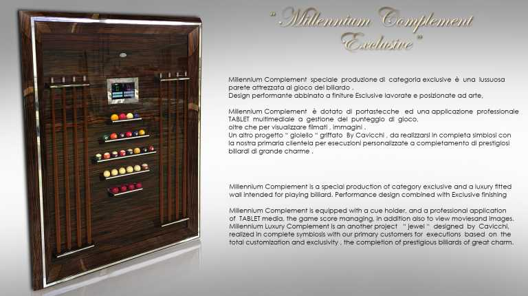 Millennium Exclusive Complement