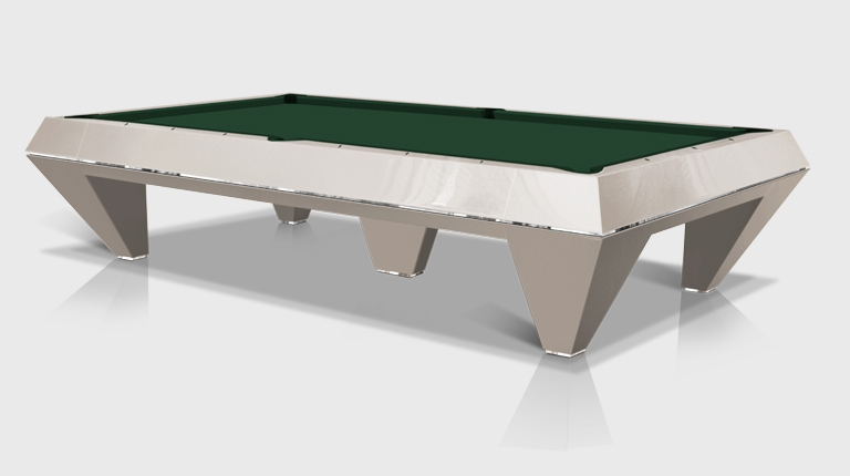 F1 Pearled and lacquered billiard Pool Table 5 bases