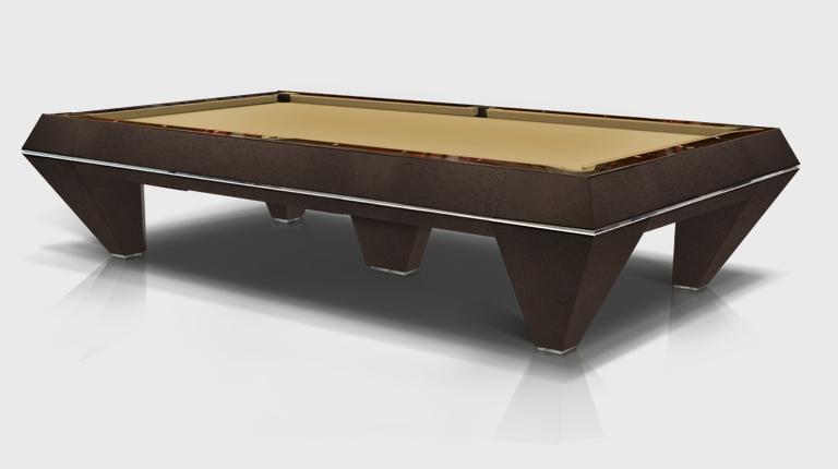 Millennium Leather 5 bases Billiard Pool Table