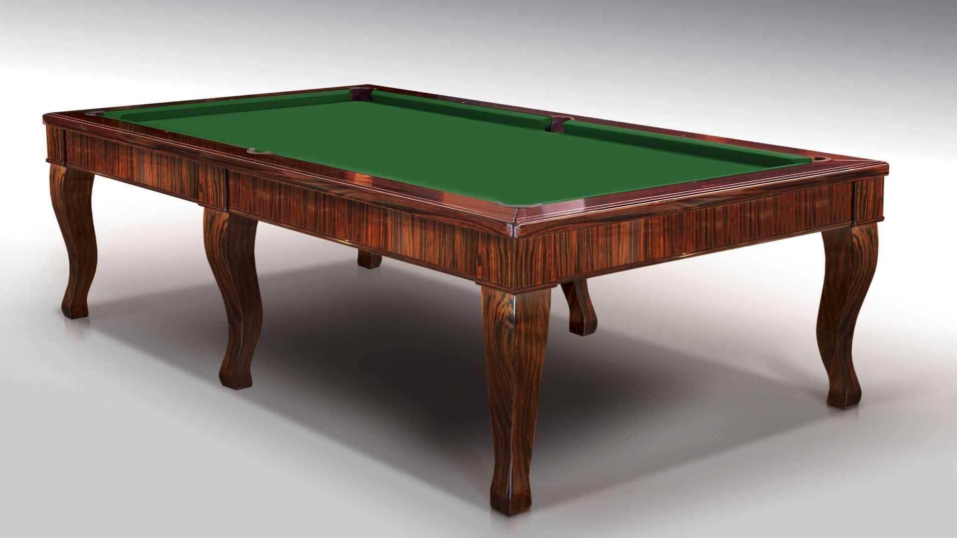 Бильярдный стол «Canossa Ebony» 3
