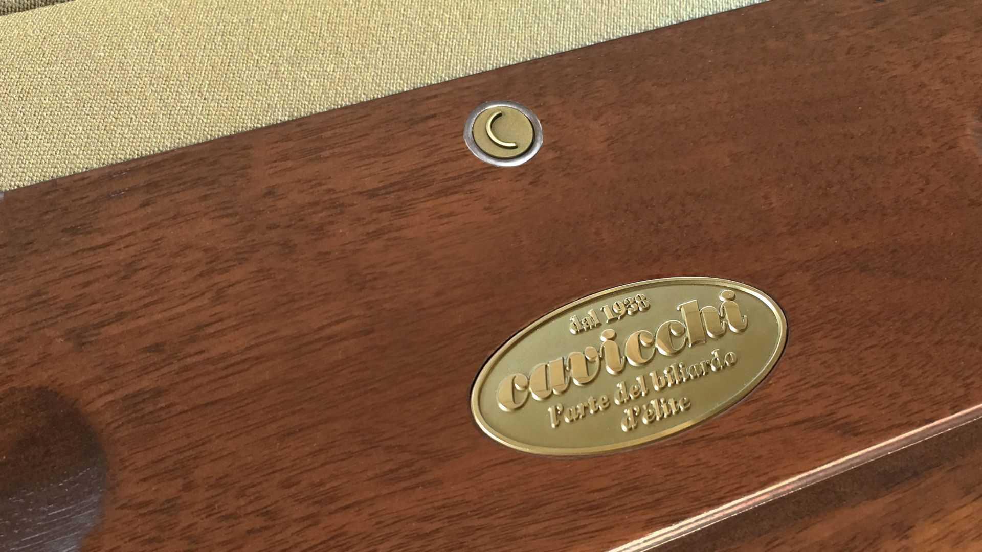 Leonardo Walnut/Dark Moka Luigi XVI Billiard Pool Table 13