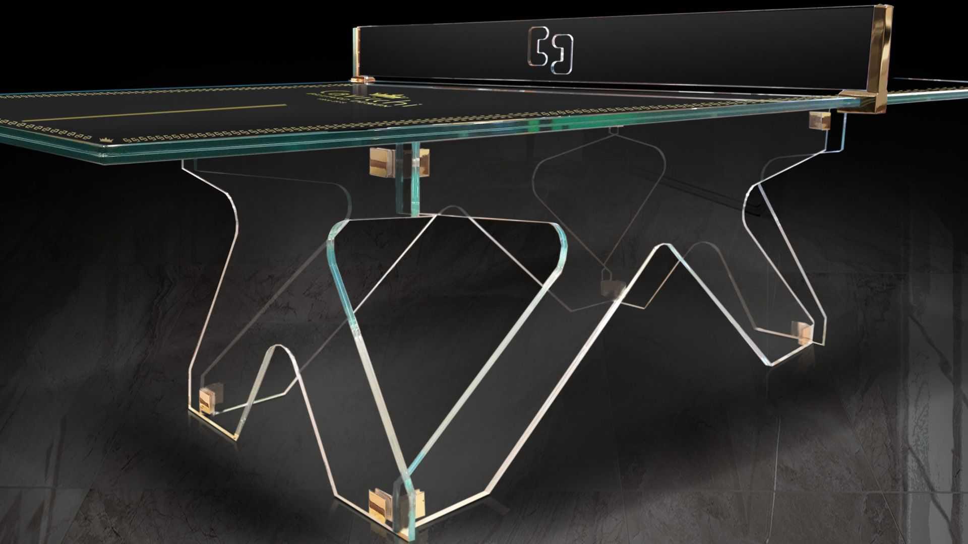 Crystal Ping Pong Table 4