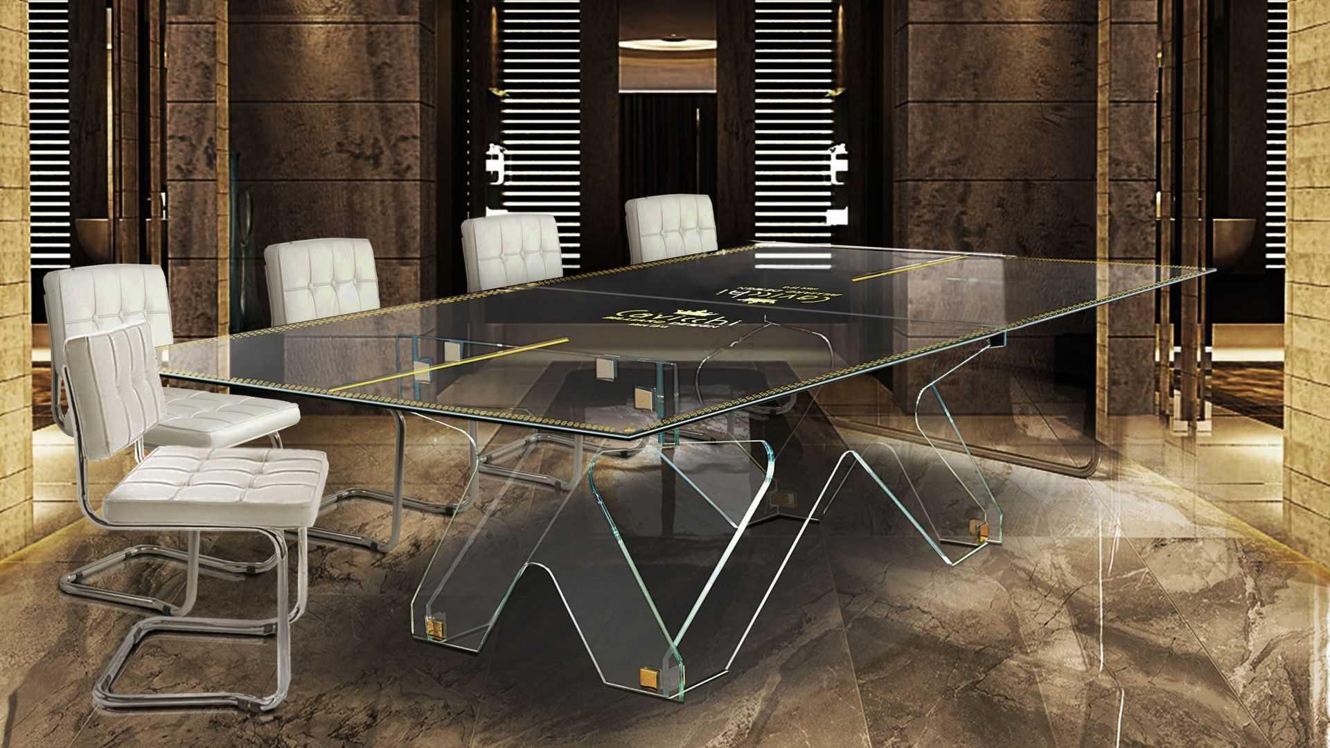 Crystal Ping Pong Table 6