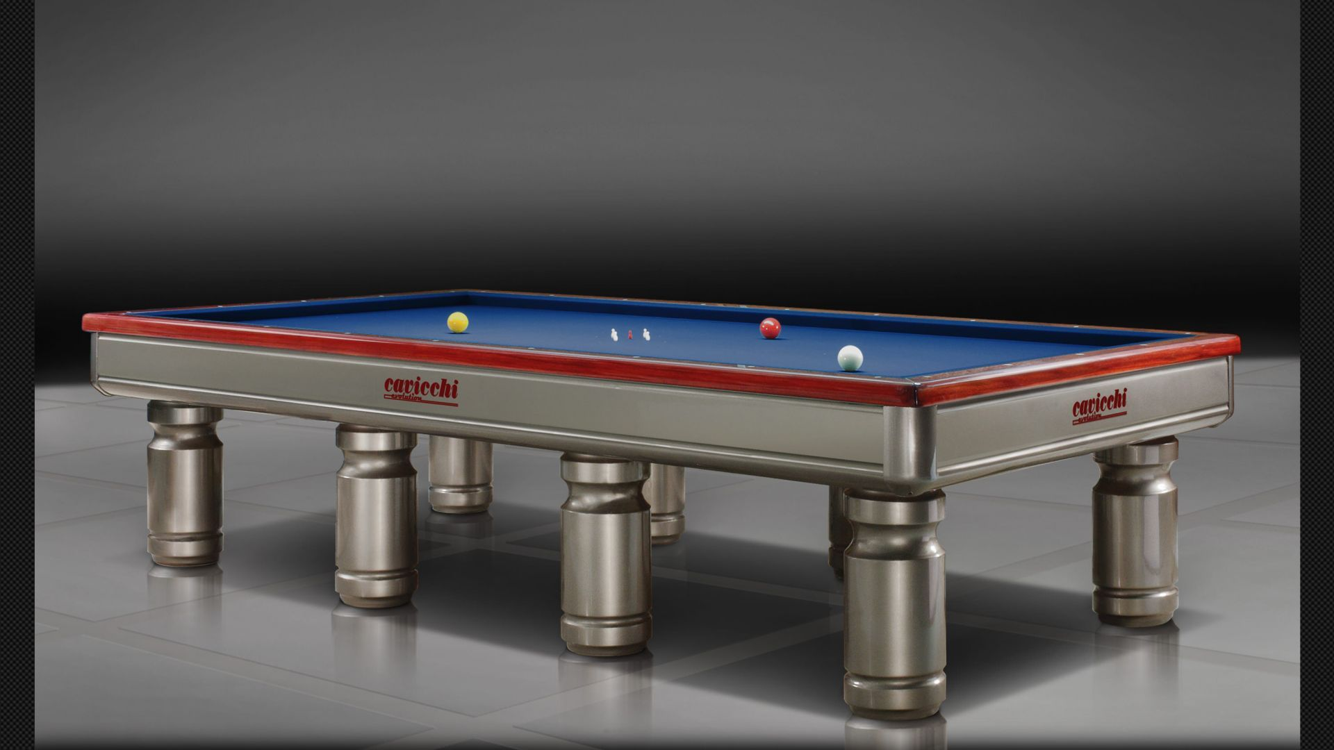 Evolution Billiard Biliardi Cavicchi - Sleek pool table