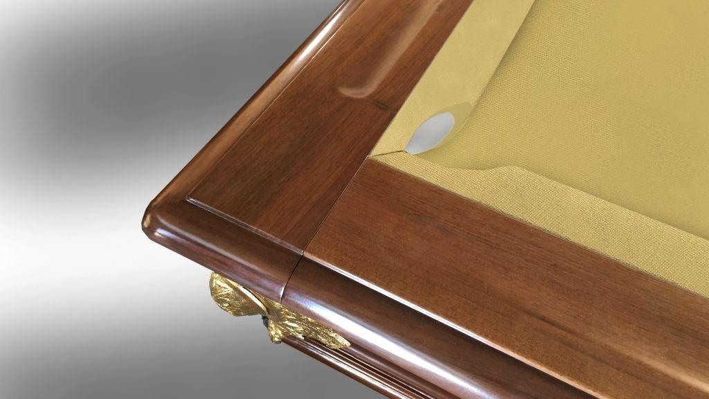 Leonardo Walnut/Dark Moka Luigi XVI Billiard Pool Table 14