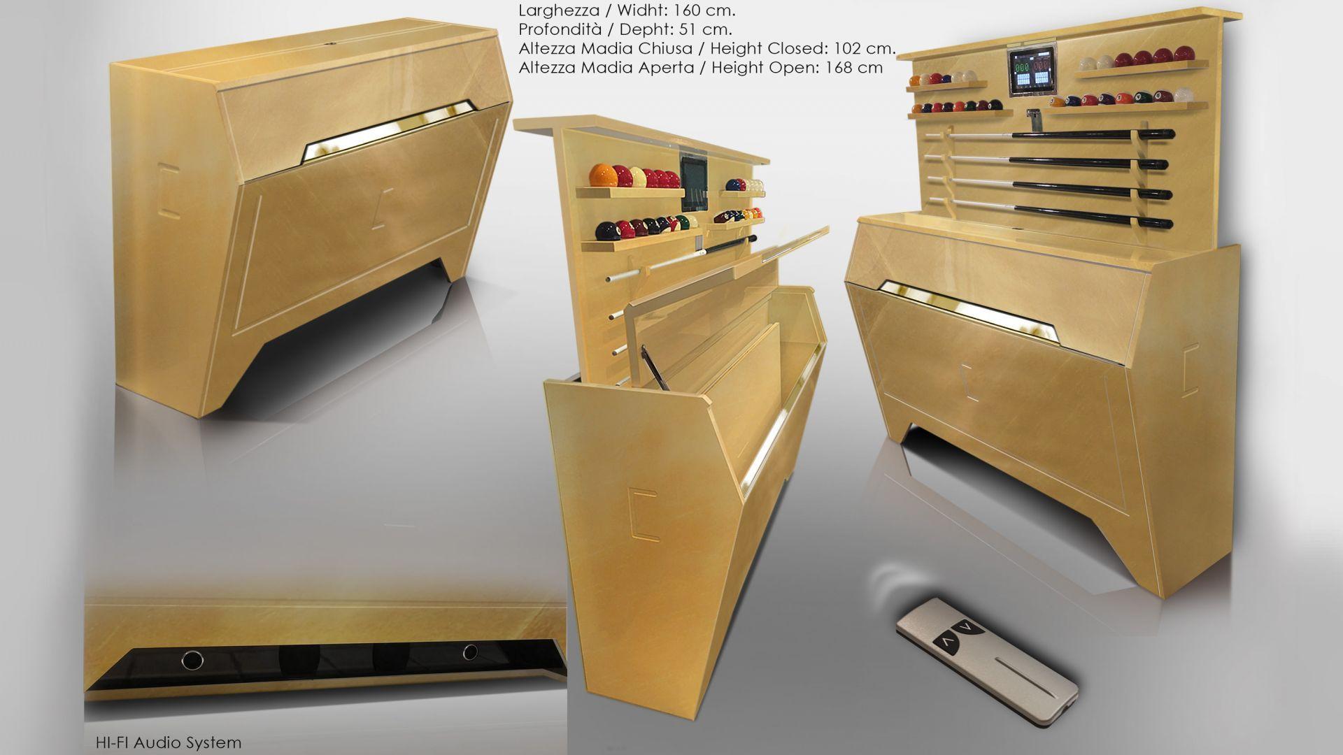 Pool Billiard Tables Opera Millionaire and Gold Leaf 12