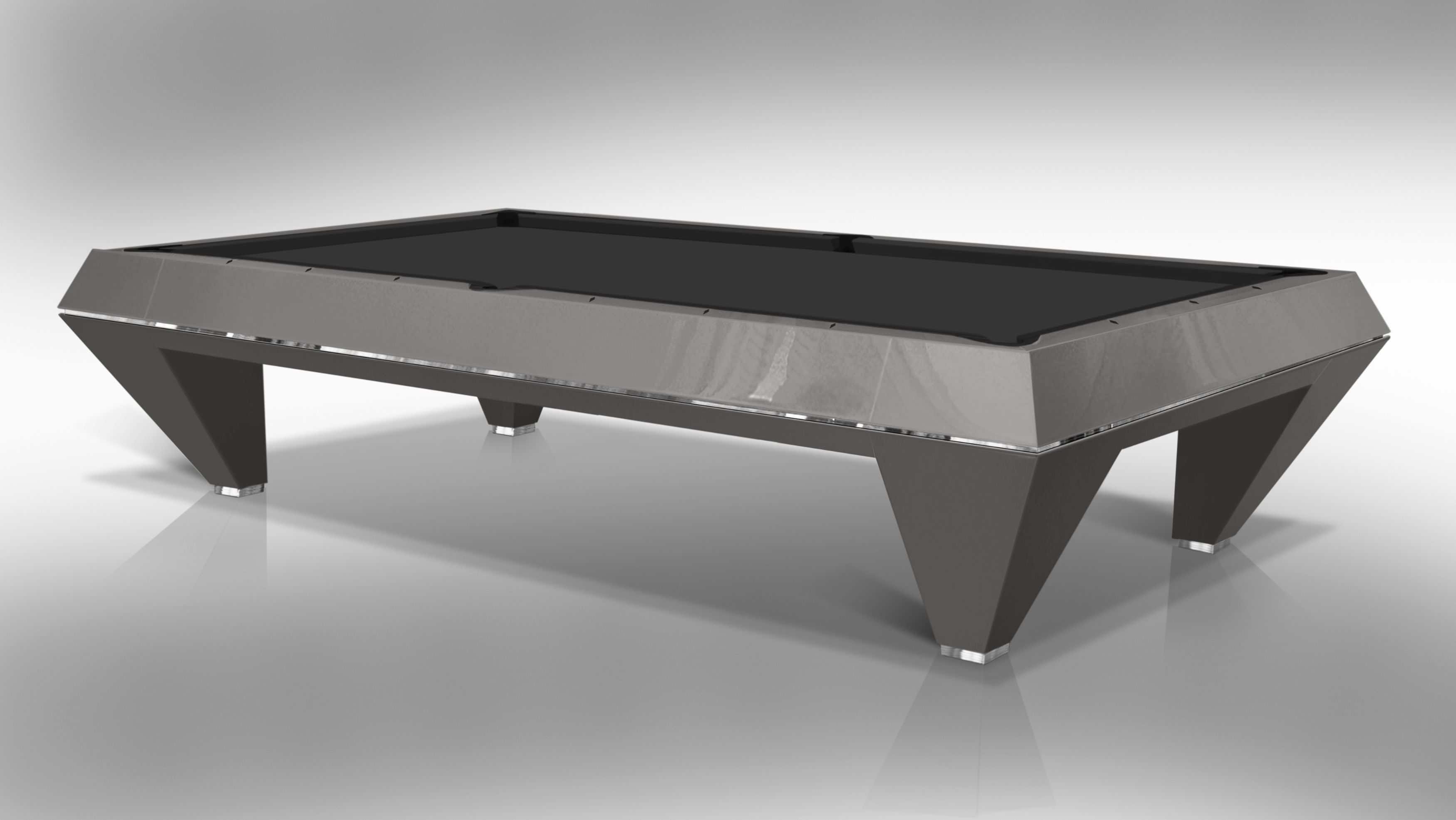 """ F1 LACQUERED"" billiard Pool Table 6"