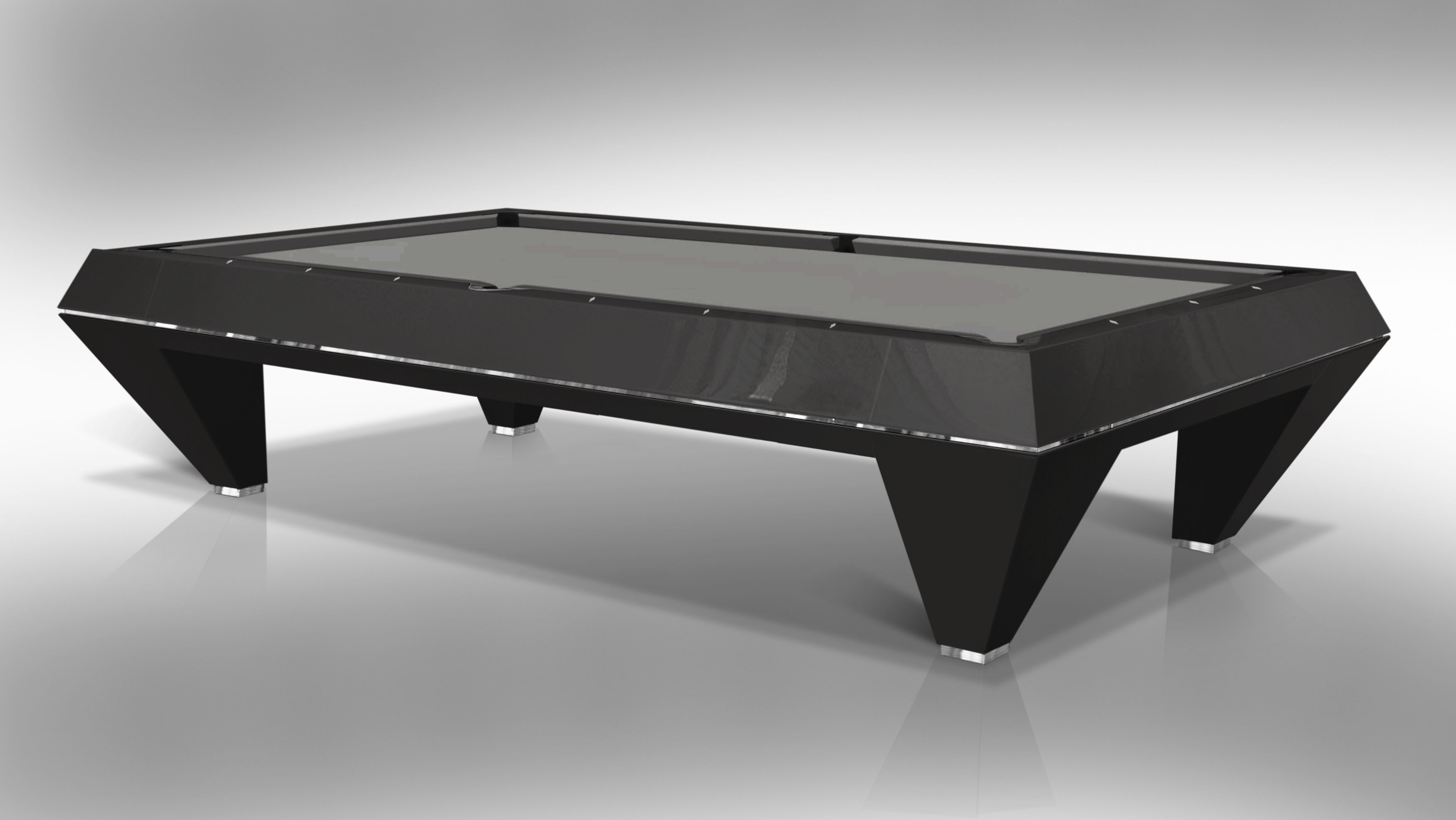 """ F1 LACQUERED"" billiard Pool Table 5"
