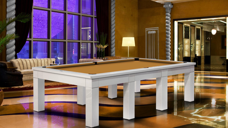 Luxor Billiard Pool Table 6-8 bases 2