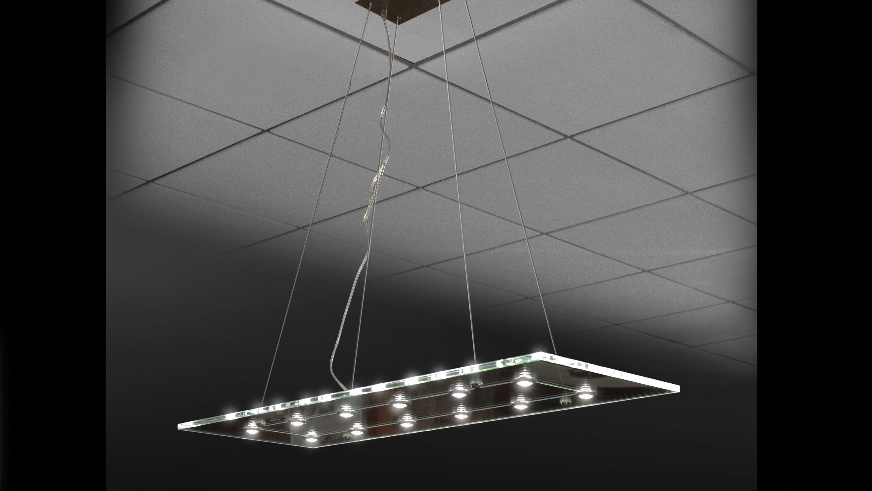 Linear chandelier 1