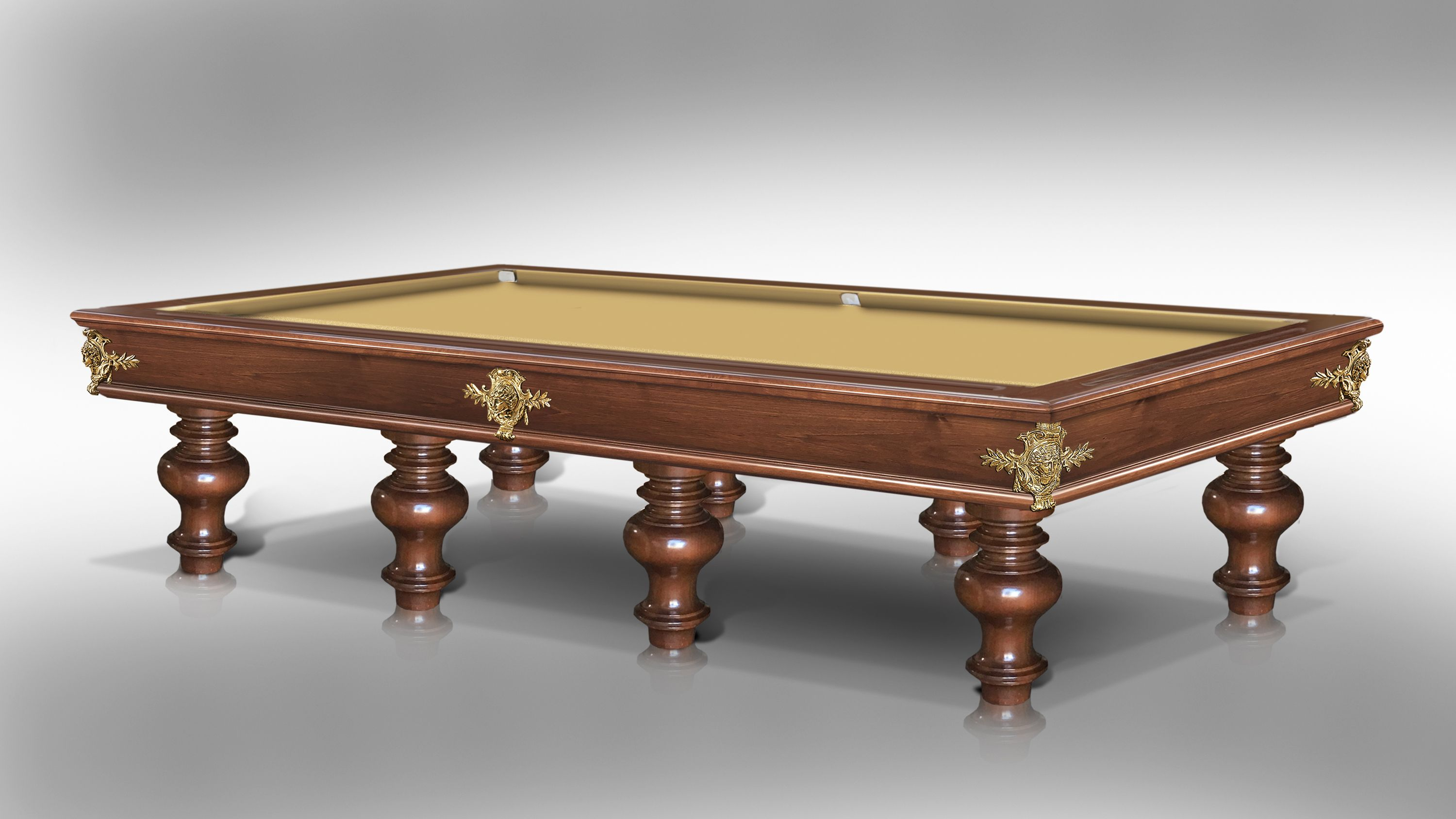Leonardo Onion Walnut billiard Pool Table 3